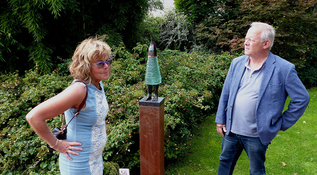 Foto Roel van Deursen Beeldentuin Fam. Penning Het Zwarte Gat - Oostvoorne 2020-09-05 -33-