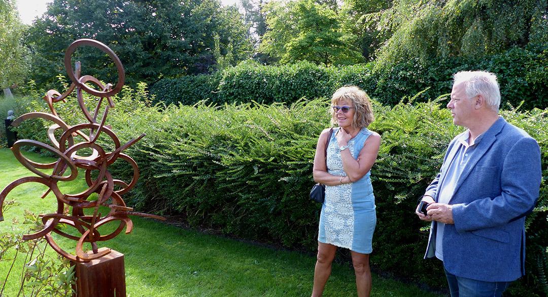 Foto Roel van Deursen Beeldentuin Fam. Penning Het Zwarte Gat - Oostvoorne 2020-09-05 -43-